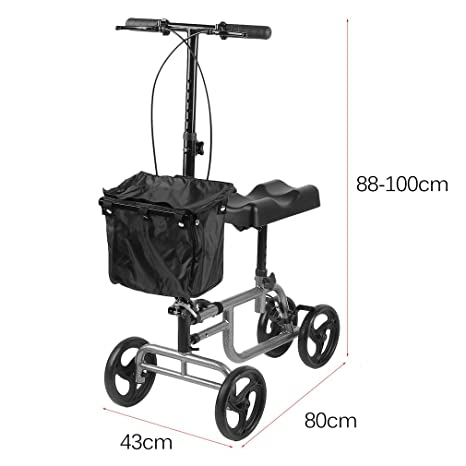 Amazon.com: Knee Walker Coldcedar - Rodillera de 4 ruedas ...