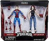 Marvel Legends Spider-Man & Mary Jane 2 Pack 6' Action Figures