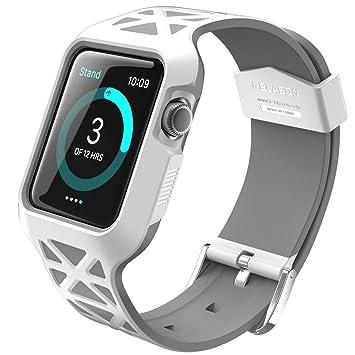 i-Blason Caja de Apple Watch, [Unity Serie] Carcasa/Funda/Protectora Resistente para Apple Watch/Correa para el Deporte/Edición 2015 para Reloj ...