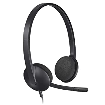 Logitech H340 USB Headset for PC and Mac  Amazon.co.uk  Computers ... 19bfaa1632