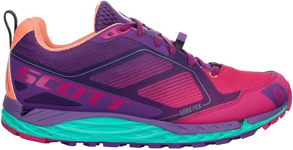 Scott - Zapatillas para Correr en montaña para Mujer Morado Morado/Rosa: Amazon.es: Zapatos y complementos