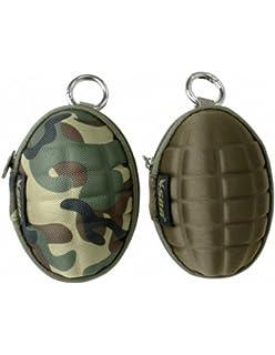 2667e85fd5 SBB Portachiavi rigido portamonete mod Granata Bomba a mano militare  verde/camo