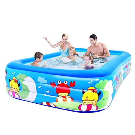 BJL Piscina Inflable Hogar Piscina Grande Aislamiento bañera ...