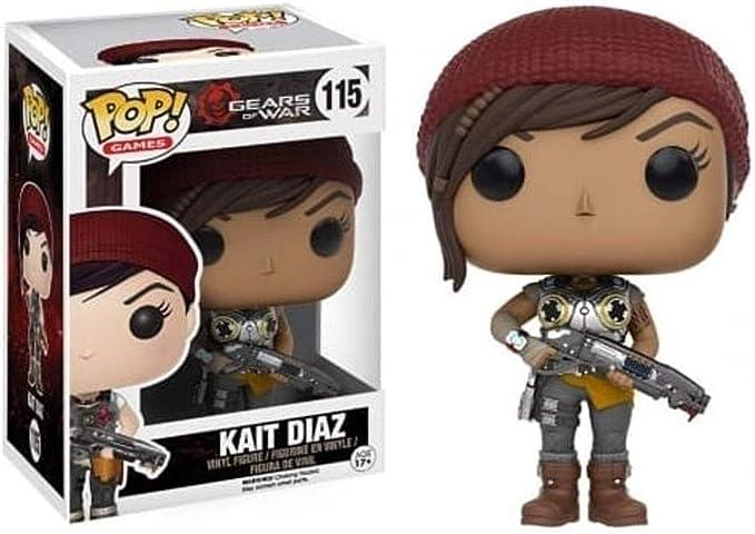 Gears of War Armored Kait Diaz Pop! Vinyl Figure by Gears of War ...