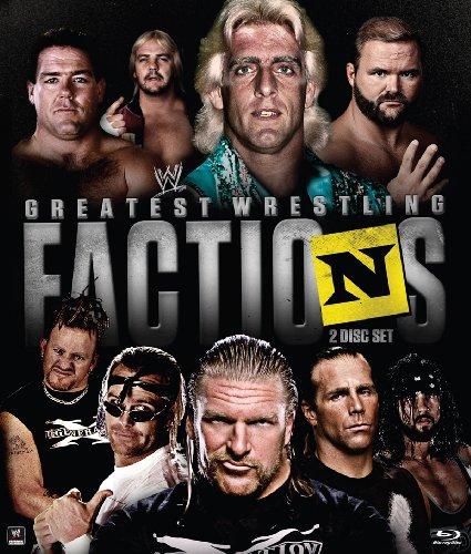 WWE: Wrestling's Greatest Factions (Blu ray) [Blu-ray]
