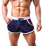 mioim Herren Sporthose Kurz Sport Shorts Jogginghose Laufhose Fitness Freizeit Trainingshose Gym Hose Sommer Athletische Workout Pants Sportwear