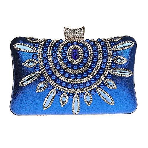 femme pour TOOKY TOOKY Bleu Pochette Pochette pour xwFXqSn