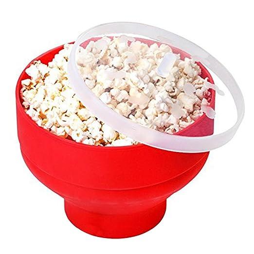 Microondas Popcorn cuenco, cuitan Popcorn Maker cuenco de ...