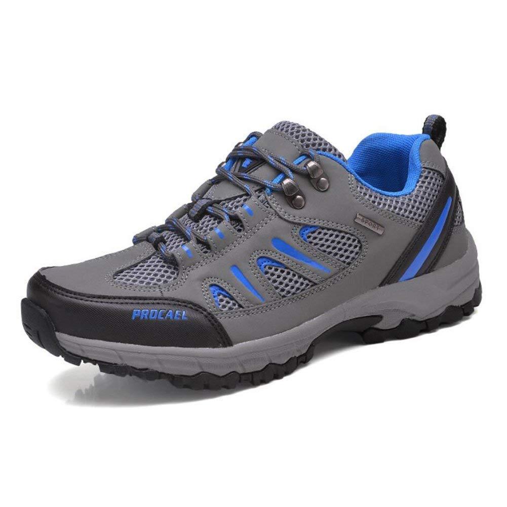 Oudan Outdoor-Schuhe, Mesh Breathable Paar Schuhe Wandern, Frühling und Sommer Sport und Freizeit Herrenschuhe, Damenschuhe, Rutschfeste verschleißfeste Turnschuhe (Farbe : EIN, Größe : 37)