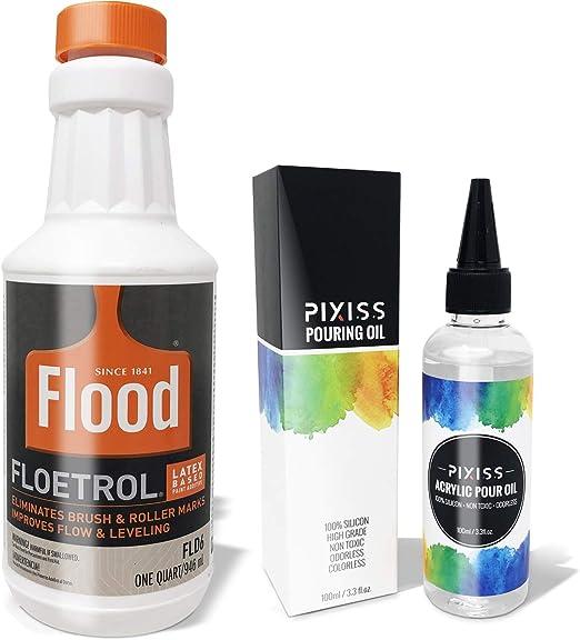 Amazon Com Floetrol Pouring Medium For Acrylic Paint Flood