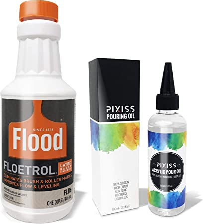 Amazon Com Floetrol Pouring Medium For Acrylic Paint Flood