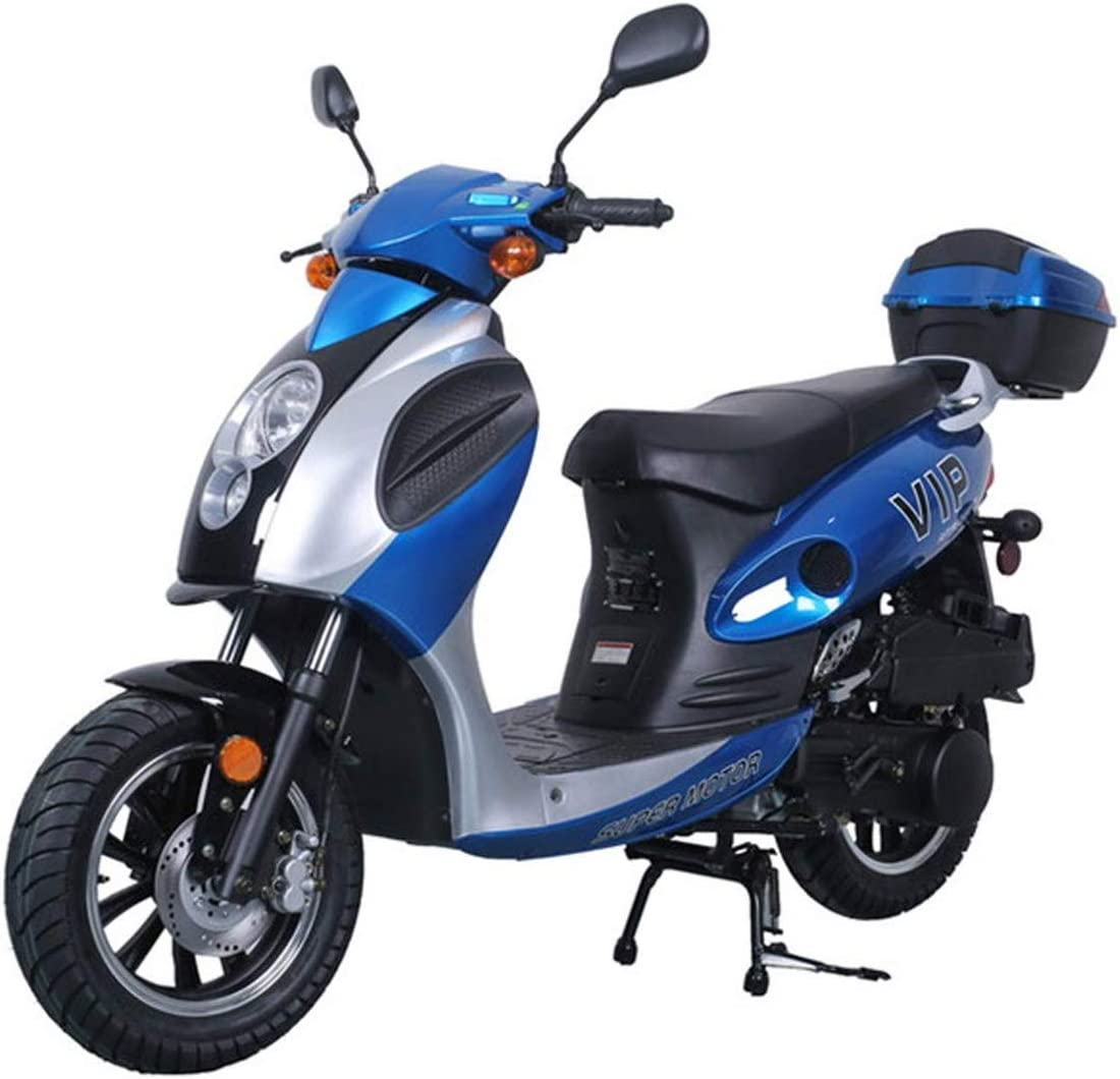 X-Pro 150cc Moped Scooter Gas