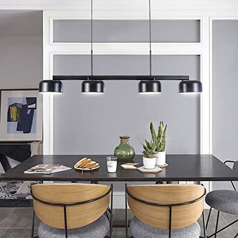 Modern Pendant Light 4 Light Simple Design Dining Room Light