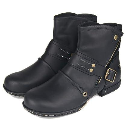 b3f77cf7614fa Amazon.com: Men's Shoes Spring Martin Boots Leather British Style ...