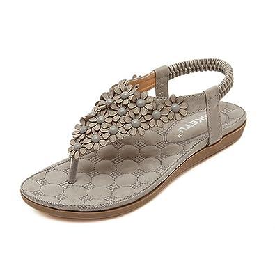 LOBTY Damen Römersandalen Sandalen Schuhe Flip flop Pantoffeln Zehentrenner damen Clogs Classic Pantoffeln Damen Sommer Schuhe Hausschuhe Gr.36-40 q2EjDf