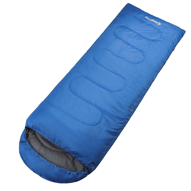 Envelope Sleeping Bag With Hood Camping Backpacking 8630'' Varied