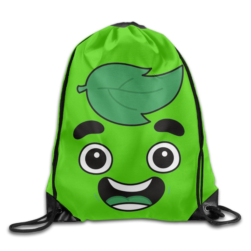 Unisex Guava Juice Face Sports Drawstring Backpack Bag