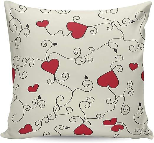 Cotton Linen Throw Pillow Case Waist Cushion Cover Pillowcase Sofa Home Decor