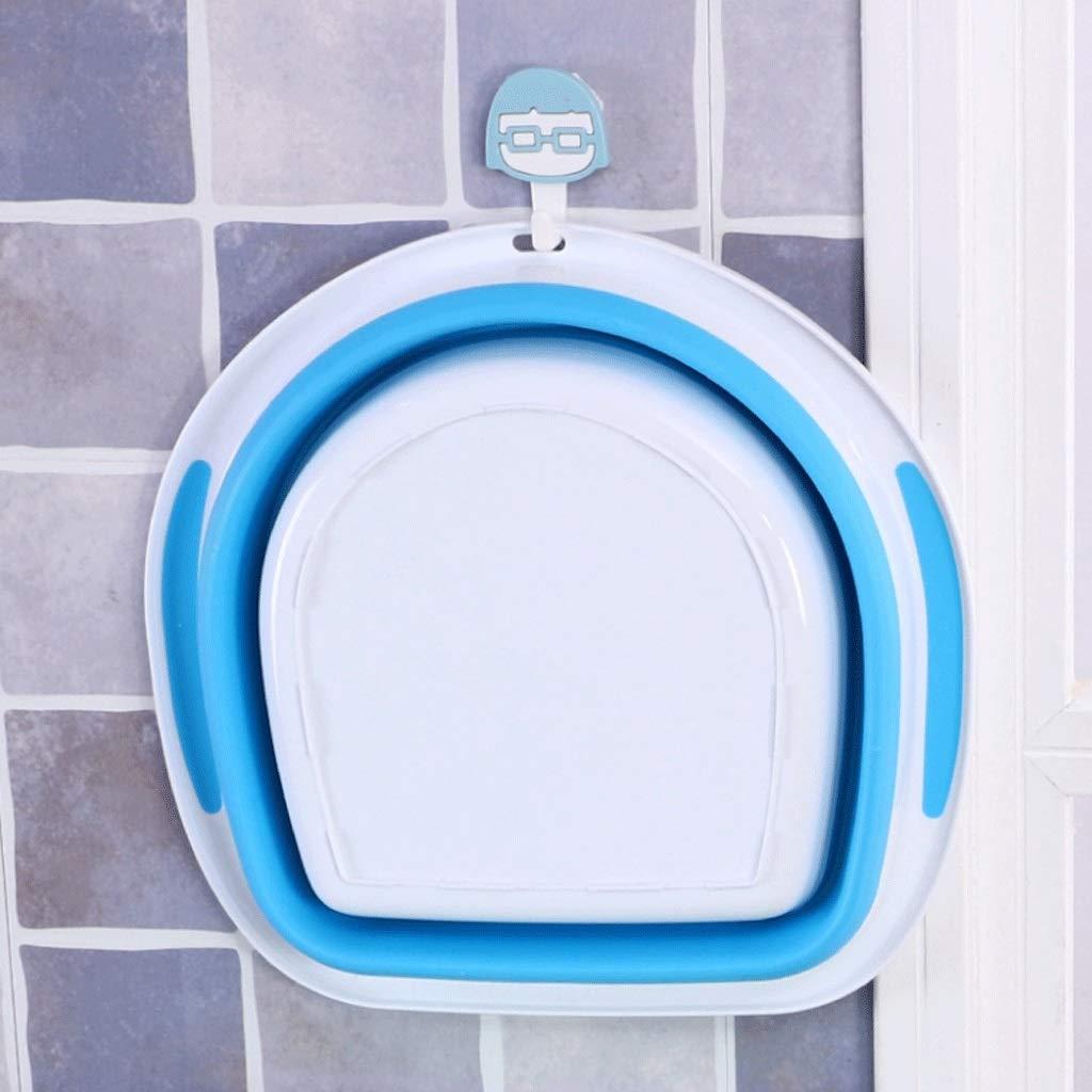 YUN del Lavabo Plegable Plegable portátil al Aire Libre del YUN Lavabo del Lavabo Plegable al Aire Libre (Color : Azul) df4d68