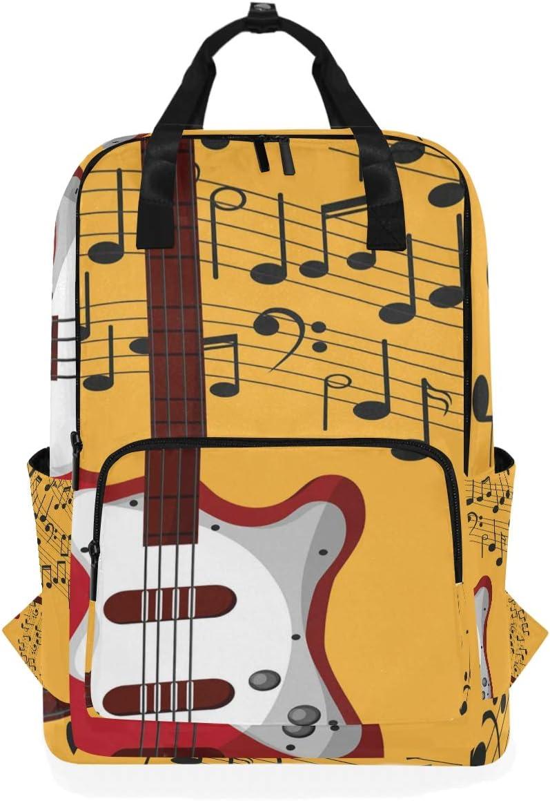 Mochila para Estudiantes, con diseño de Guitarra, para la Escuela ...