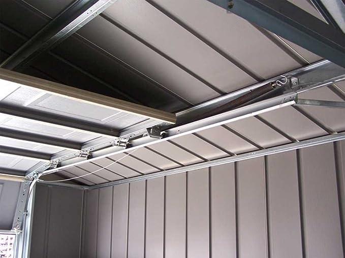 Garaje de acero galvanizado GA 1217-Dim: 371 x 516-PEGANE-x 262 cm: Amazon.es: Hogar