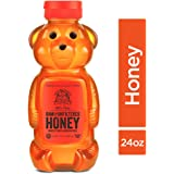 Nature Nate's 100% Pure Raw & Unfiltered Honey; 24-oz. Bear Squeeze Bottle; Certified Gluten Free and OU Kosher Certified; Enjoy Honey's Balanced Flavors, Wholesome Benefits and Sweet Natural Goodness