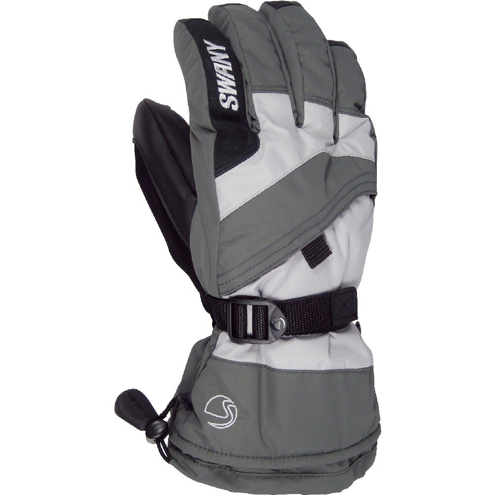 Swany X-Over Jr Gloves (Medium Grey / Light Grey / Large) by SWANY