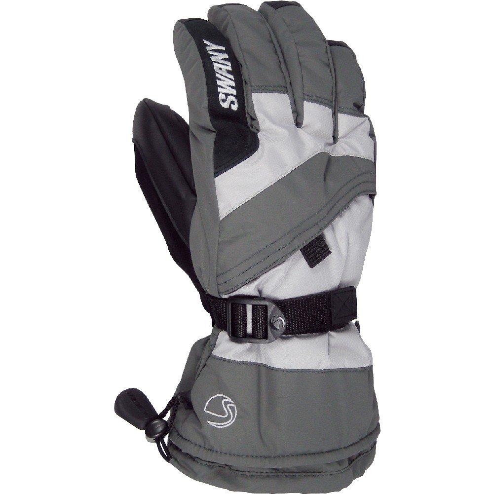 Swany X-Over Jr Gloves (Medium Grey / Light Grey / Medium) by SWANY