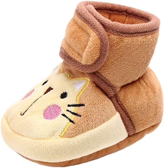 Cute Shoes Baby Girls Newborn Infant Baby Warm Casual First Walkers Toddler Shoes