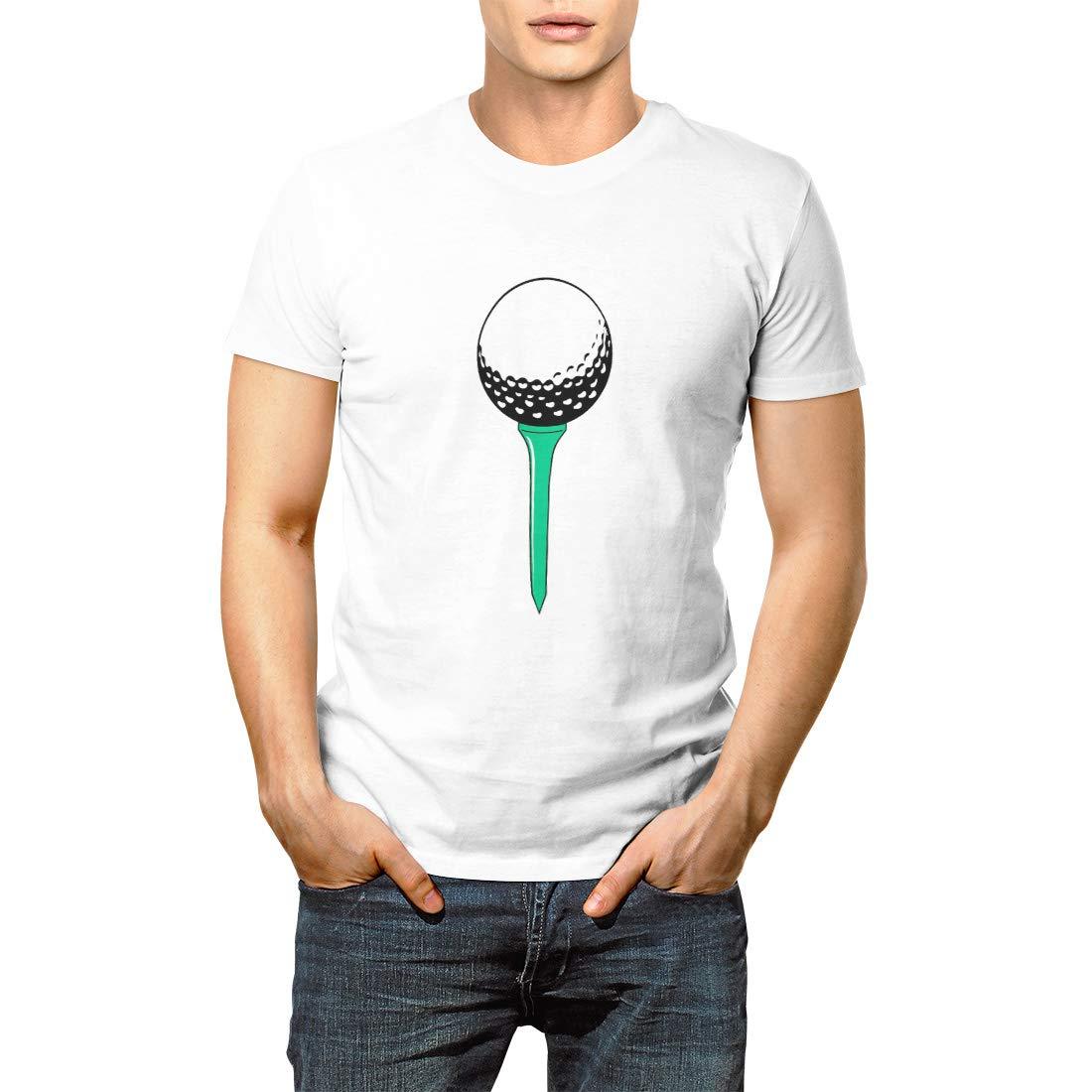 Sport Golf Ball Golfing Golfer Wholesale Short Sleeve T Shirt 3396