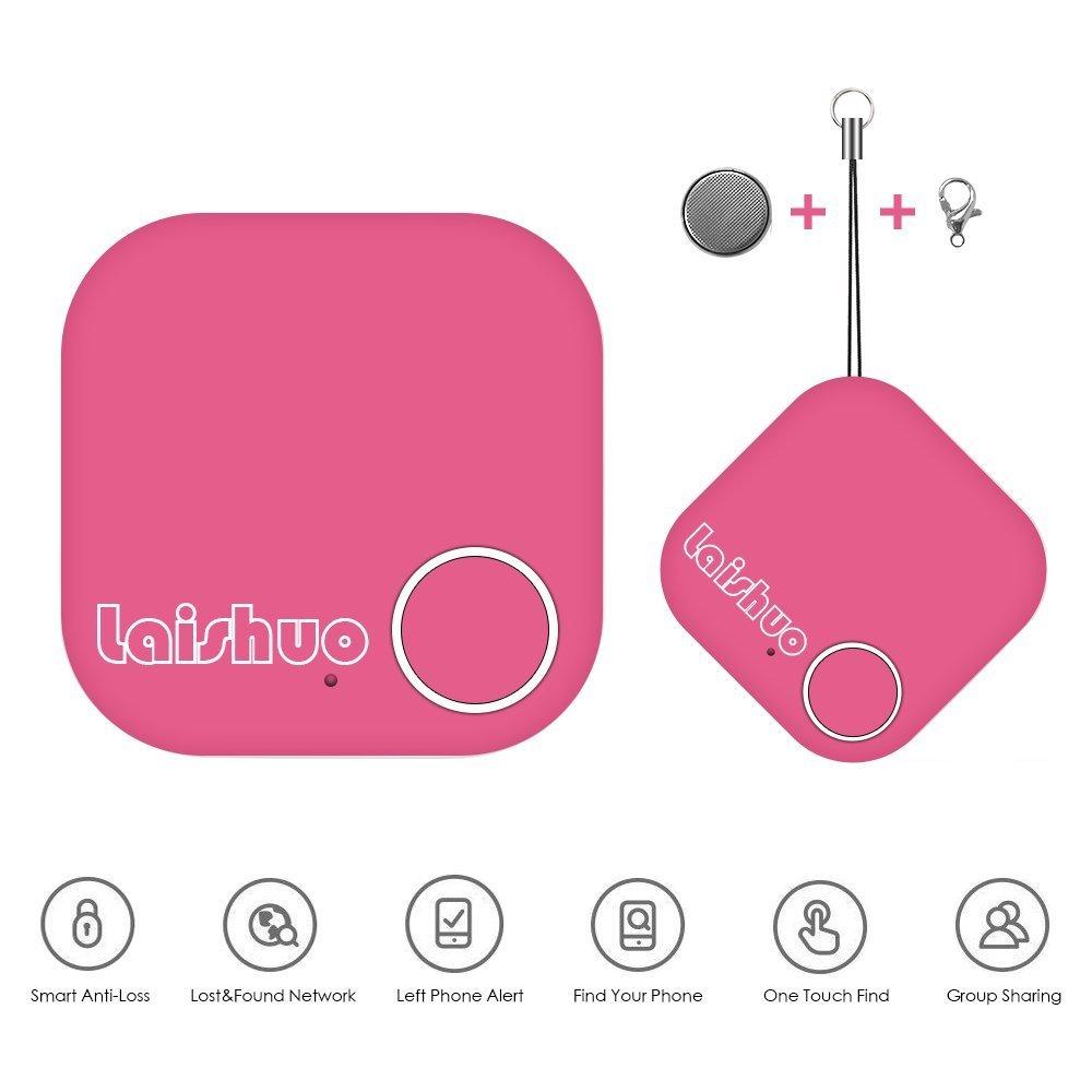 Bluetooth Tracker, Bluetooth keys Tracker, Bari Key Finder Tracking Wallet Key Bag Pet Dog Tracer Locator Alarm Patch GPS Locator for iOS/iPhone/iPod/iPad/Android