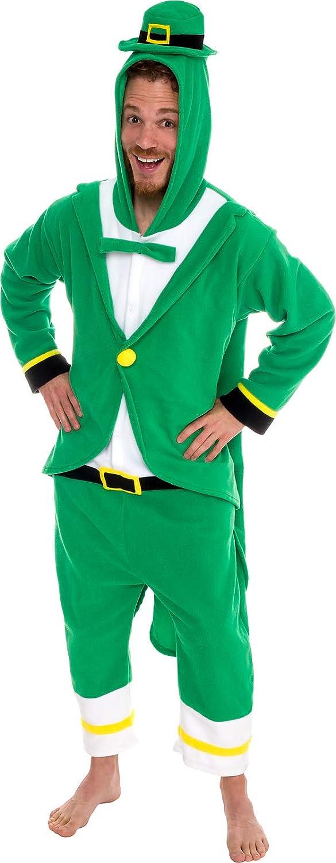Details about  /Briefly Stated Irish Leprechaun Shamrock Union Suit Men's Size Medium Costume