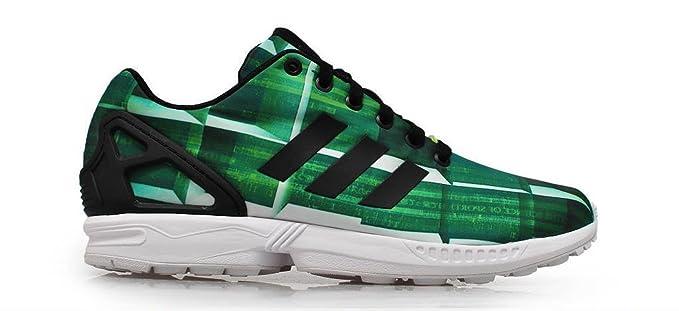 adidas zx flux hombre verdes