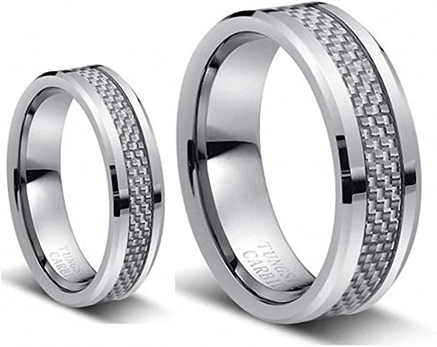 Tungsten Ring Set silver_carb1 product image 10