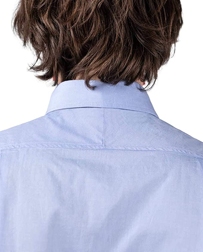El Ganso Camisa Pin Point Classic Flag Celeste Casual