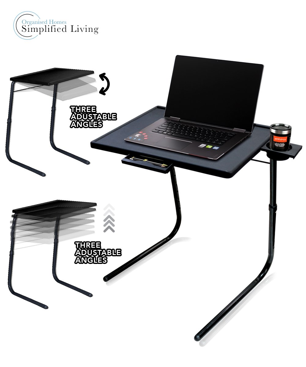 SIMPLE & Co Portable Mate TV Abendessen LaptopTray Verstellbarer ...