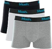 Kit 3 Cuecas Boxer, Mash, Masculino