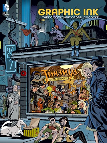 Graphic Ink: The DC Comics Art of Darwyn Cooke by imusti