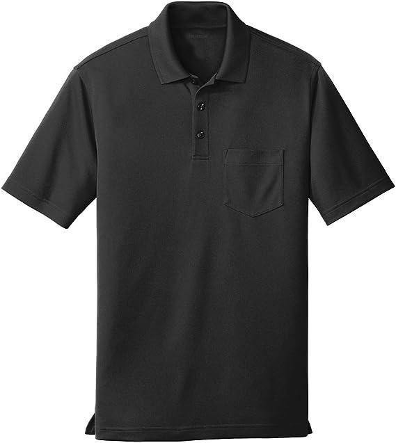 DRIEQUIP Mens Coastal Cotton Blend Polo Sizes XS-4XL