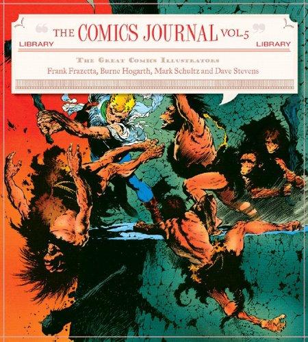 The Comics Journal Library Volume 5 Classic Comics Illustrators (v. 5)
