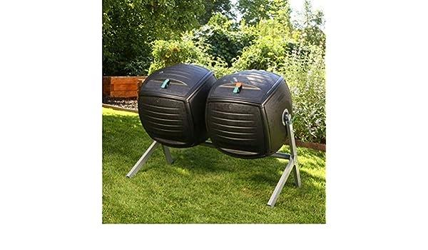 Composter vida 227 litros doble compostadores/Patio jardín paisaje casa casa patio Patio diseño Gadgets Stuff regalo de cumpleaños botánica Planta ...