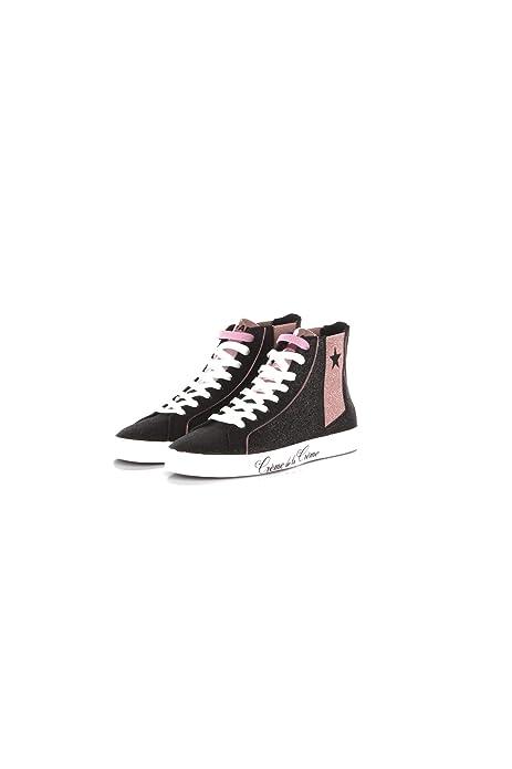 SHOP ART Sneakers Donna 40 NeroRosa #18686n Autunno Inverno