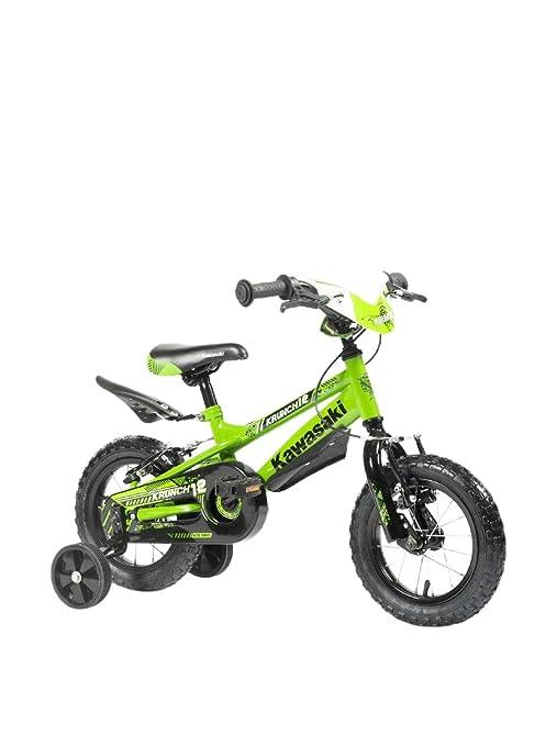 Bicicletta Bambino 14 4 5 6 7 Anni Atk Bikes Kawasaki Krunch