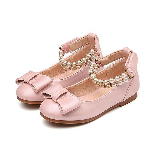 HXD - Merceditas de Material Sintético para niña  Amazon.es  Zapatos y  complementos 7c15819b95fa0