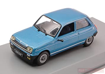 WHITEBOX WB240 RENAULT 5 ALPINE 1976 METALLIC BLUE 1:43 MODELLINO DIE CAST MODEL: Amazon.es: Juguetes y juegos