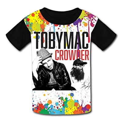Black_Toby_Mac Children Tees 3D T-shirts Boys Girls