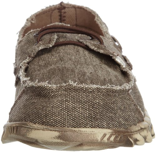 Shoes Dude Puchi Men's Chocolate Canvas Stonewashed 7qqtwUrx