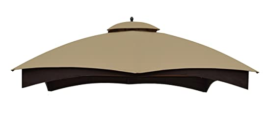 Replacement Canopy Top For Lowes Model GF 12S004BTO 10x12 Dome Gazebo Beige