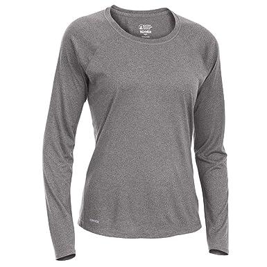 fb00d2fd2c4 Eastern Mountain Sports EMS Women s Techwick Essence Crew Long-Sleeve Shirt  at Amazon Women s Clothing store