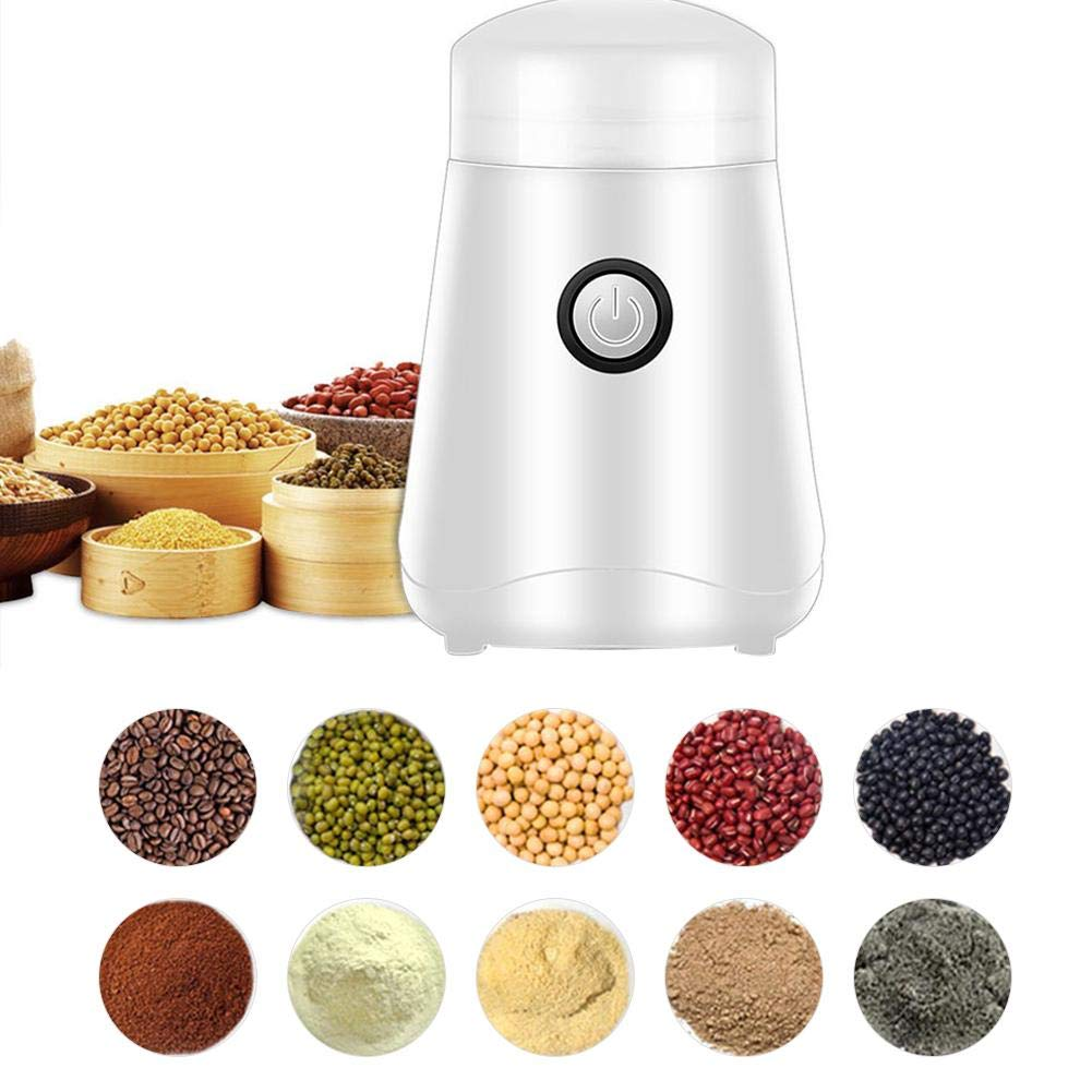 Electric Coffee Grinder,Automatic Grinding Tool Appliance for Coffee Beans,Spices,Herbs,Pepper,Salt & Nuts